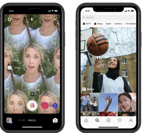 Instagram Reel Content Platform