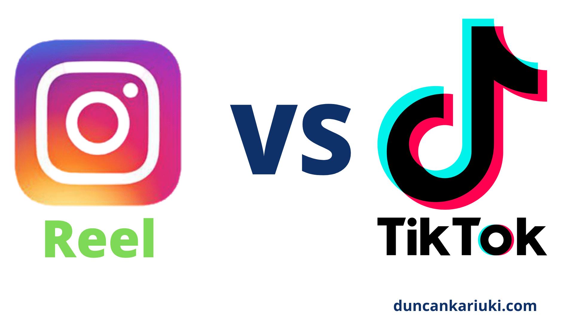 Instagram Reel vs TikTok platform